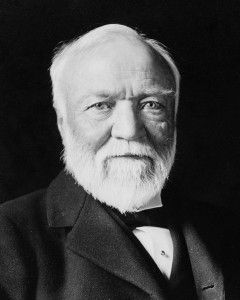 Andrew Carnegie Foto: Theodore C. Marceau - Wikimedia Commons